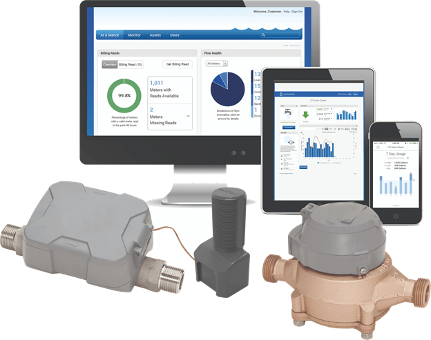 smart home automation-water usage meters